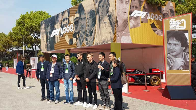 f1 1000th grand prix china