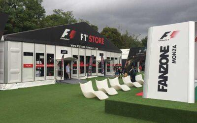 F1 Merchandise Sales At Italian Grand Prix