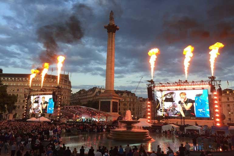 f1 london live concert kaiser chiefs