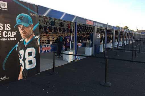 nfl london games 100m merchandise shop