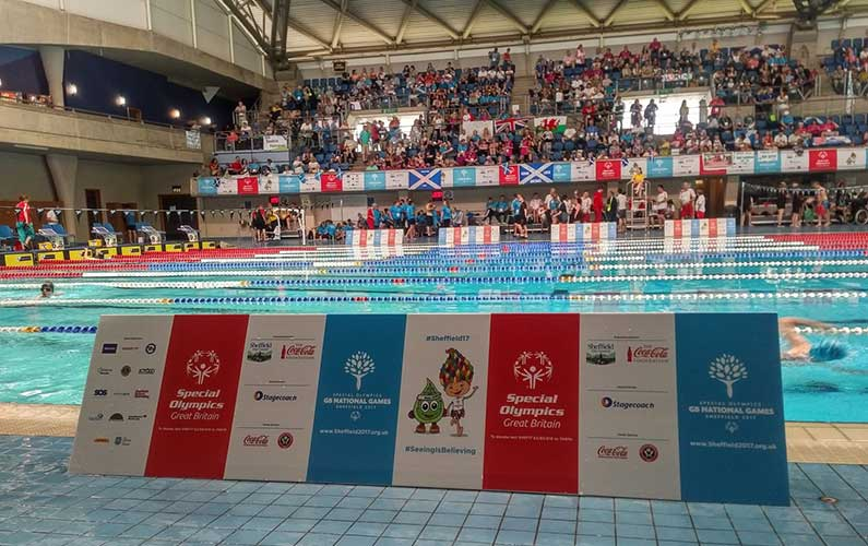 Cube delivers Event Venue Branding for Special Olympics GB National Games in Sheffield