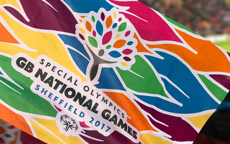Cube to deliver Event Branding and Merchandising Special Olympics GB Flagship Event