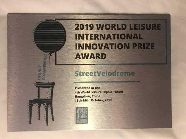 streetvelodrome international award