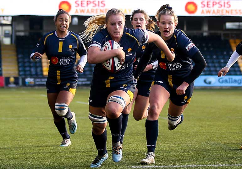 brand activation sepsis trust at worcester warriors