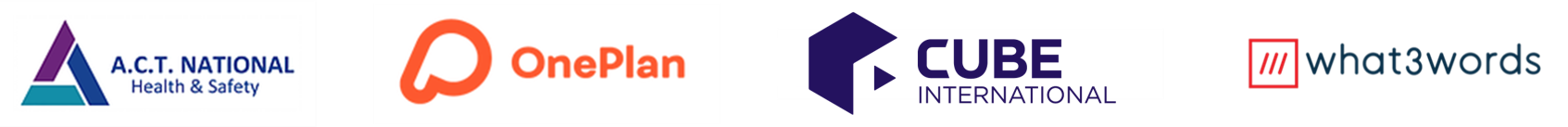 safe event scheme main partner logos