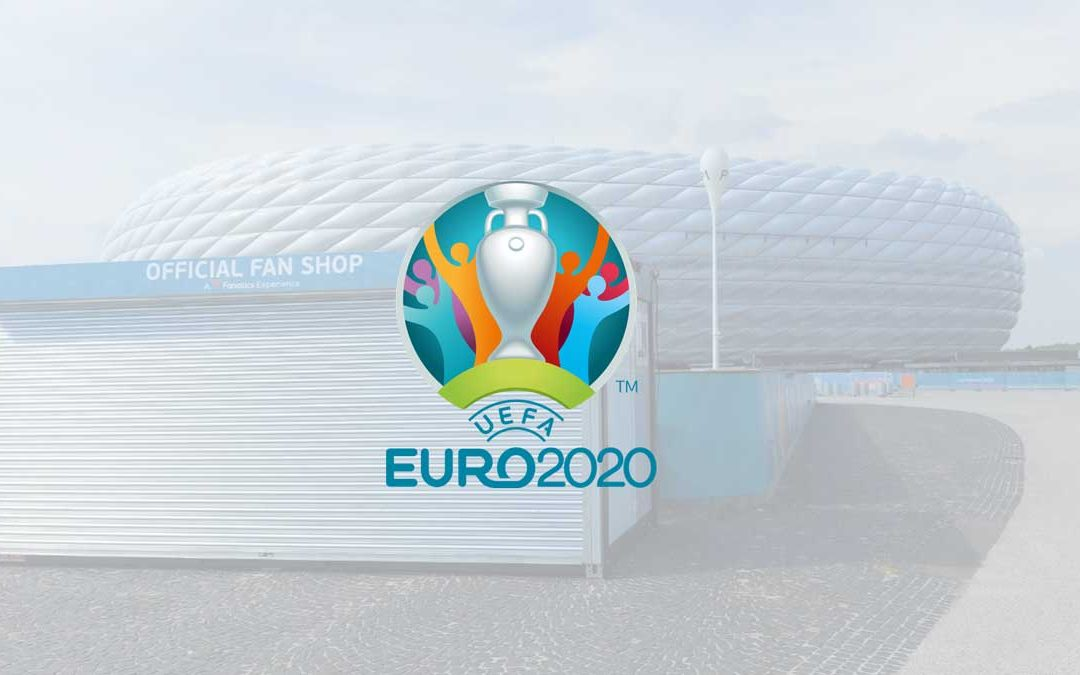 Euro2020 – Cube installs the world's most sustainable portable building solution at venues across Europe