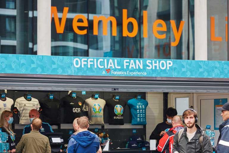 euro2020 fan store wembley
