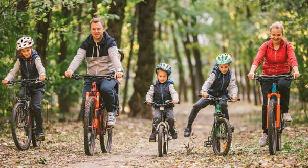 mad hare family cycle ride