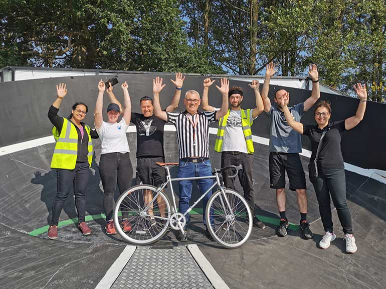 street velodrome at mad summer hare 2021